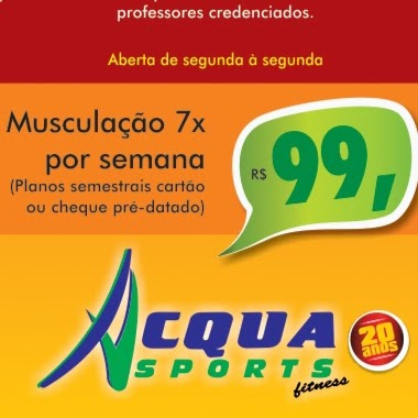 Academia Acqua Sports Fitness