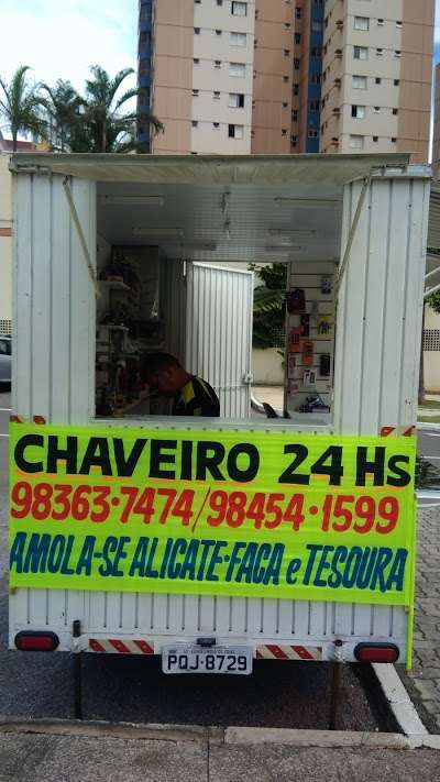 Brasilian Security chaveiro 24 hs