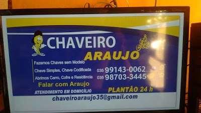 Chaveiro Araújo Três Corações 24horas