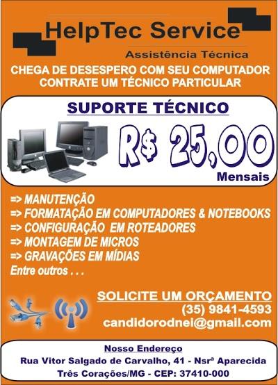 HELPTEC SERVICE - ASSISTÊNCIA TÉCNICA